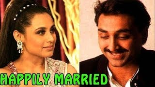 Rani Mukherjee & Aditya Chopra get Married SECRETLY in Italy