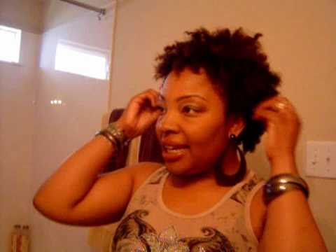 ~22~ Natural Hair Dry Twist Out