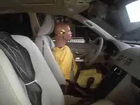 Crash Test 2005 - 2011 Volvo XC90 (Side Impact) IIHS