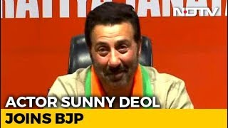 """Want PM Modi For The Next 5 Years,"" Says Sunny Deol After Joining BJP - NDTV"
