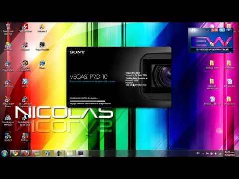 Templates (plantillas)   para Sony Vegas Pro 9 y 10 . [Experiencia  Windows] PARTE 1