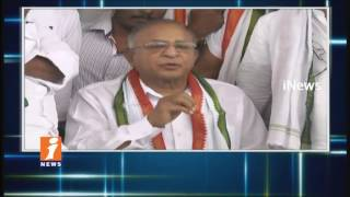 EX MP Ponnam Prabhakar Hunger Strike Ends For Medical College In Karimnagar | iNews - INEWS