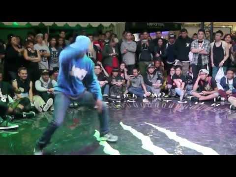 P styles vs Jet-Li ALL STYLE battles. World of dance 2013