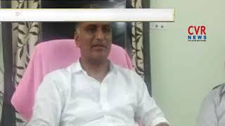 Minister Harish Rao Launches Kaleshwaram Pump House Motor | CVR NEWS - CVRNEWSOFFICIAL