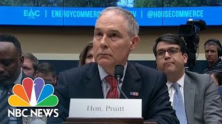 Representative Frank Pallone To Scott Pruitt: 'Your Actions Are An Embarrassment' | NBC News - NBCNEWS