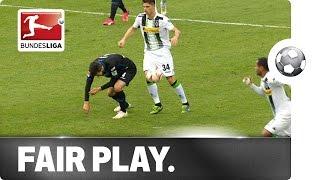 ماكس كروس يضرب مثالا للعب النظيف في الدوري الألماني