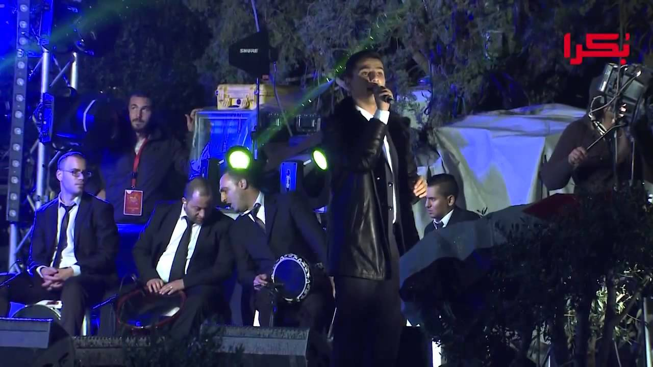 حفلة محمد عساف في الكريسماس ماركت الناصرة  2014