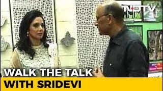 Walk The Talk with Sridevi (Aired: April 2013) - NDTV