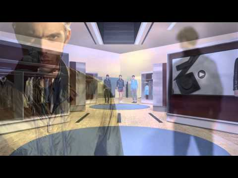 Milla Jovovich: introducing Zegna in_STORE for iPad
