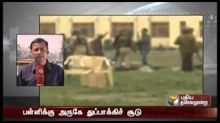 Militants attack CRPF camp, 5 jawans, 2 ultras killed