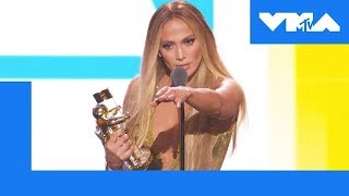 Jennifer Lopez Accepts the Video Vanguard Award | 2018 Video Music Awards - MTV