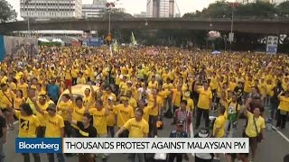 Call for Change: Protesters Demand Malaysia's Najib Resign - BLOOMBERG