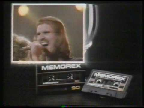 'Memorex Cassette Tapes' [01] - TV commercial (1981)