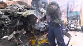 BMW 1. Body repair. Ремонт кузова.