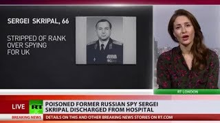 Sergei Skripal discharged from hospital after being poisoned by 'deadly' agent - RUSSIATODAY