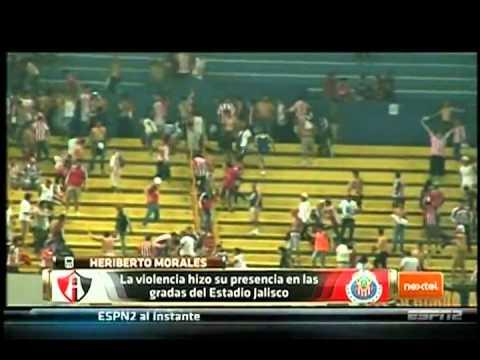 Violencia Atlas vs Chivas (2014) Analisis Futbol Picante ESPN