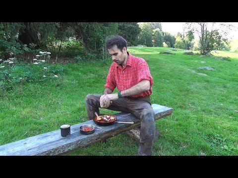 Western Movie Terence Hill beans (Campfire Cooking)