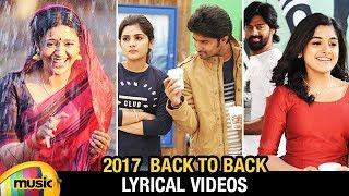 Latest New Telugu Songs 2017 | Back to Back New Lyrical Videos | Telugu Songs | Mango Music - MANGOMUSIC
