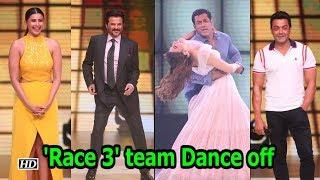 'Race 3' team Dance Off at Madhuri Dixit's 'Dance Deewane' - IANSLIVE