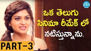 Actress Vaibhavi Shandilya Interview  - Part #3 || Talking Movies With iDeram - IDREAMMOVIES