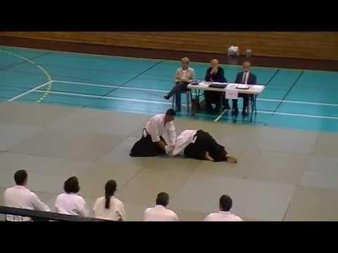 Aikido, passage 1er DAN (Ceinture noire) d'Olivier le 04 juin 2011