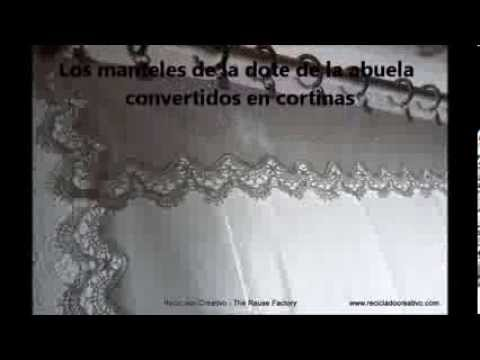 La dote de la abuela: de manteles a cortinas - Grandmother's dowry: from tablecloths to curtains