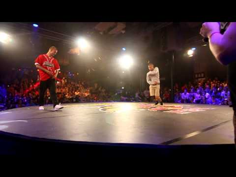 Red Bull BC One 2012 - Western European Qualifier - 1st round - Cherry vs Lagaet