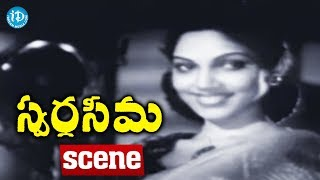 Swarga Seema Movie Scenes - Kalyani Goes To Murthy's Place || Chittor V. Nagaiah - IDREAMMOVIES