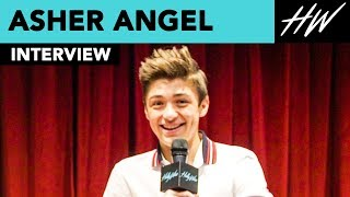 Asher Angel Admits He Left Peyton Lee Alone In A Haunted House & Gives Andi Mack Spoilers |Hollywire - HOLLYWIRETV