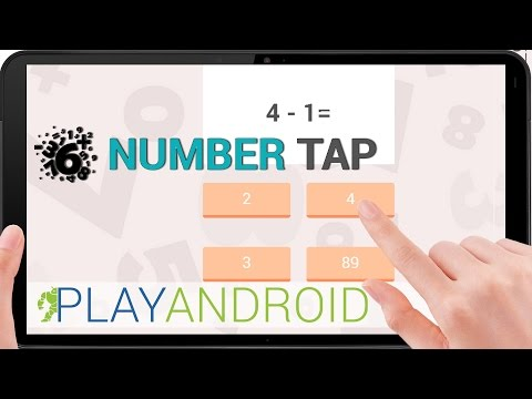 NUMBER TAP ᴴᴰ ►Do you like numbers?◄ Number Tap Review ⁞Test⁞ ⁞Gameplay⁞