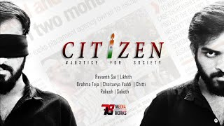 CITIZEN  | Latest Telugu short film on Indian on RAPE issues with Subtitles - YOUTUBE
