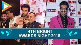 Ranbir Kapoor, Ranveer Singh & others grace the '4th Bright Awards Night 2018' | part 1 - HUNGAMA