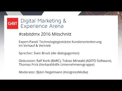 #cebitdmx: Technologiegestützte Kundenorientierung im Verkauf & Vertrieb