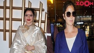 Rekha's radiant avatar | Katrina Kaif's easy-breezy look | Style Today - ZOOMDEKHO