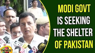 Randeep Singh Says Modi govt is seeking the shelter of Pakistan | Congress Vs BJP News | Mango News - MANGONEWS