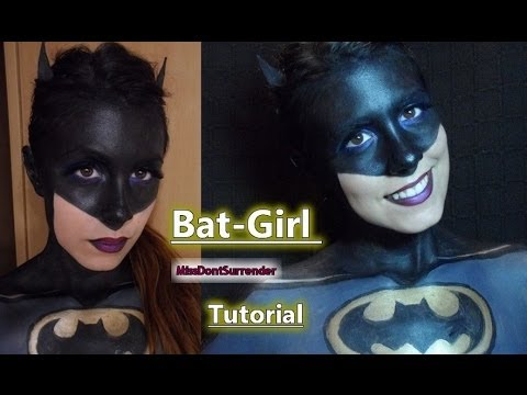 ◄ Bat-Girl Maquillaje ♀  / Batman Inspired tutorial ►
