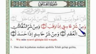 Surat Al Falaq Arab Latin Dan Terjemahannya