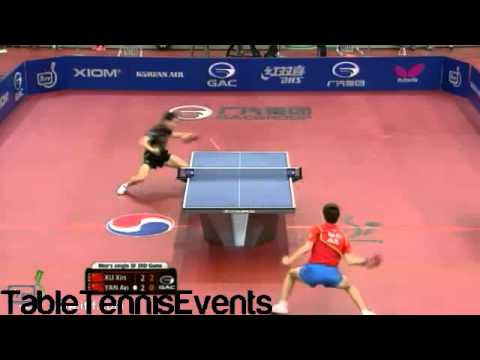 Xu Xin Vs Yan An: 1/2 Final [Korean Open 2013]