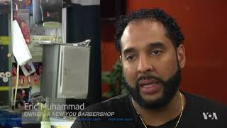 In California, Men Can Get Their Blood Pressure Checked in Barbershops - VOAVIDEO