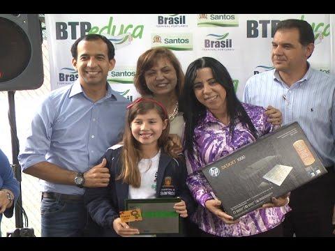 TV Costa Norte - Alunos recebem premiação do BTP Educa em Santos