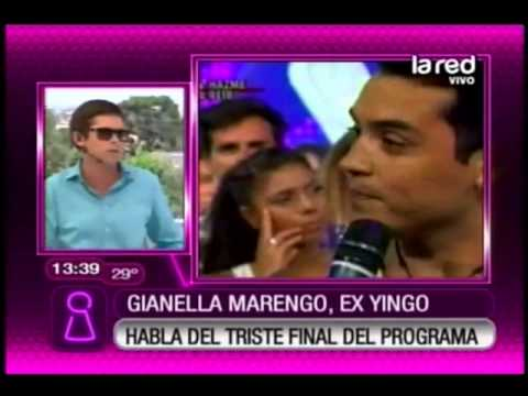 Gianella Marengo, ex Yingo, habla del triste final de programa
