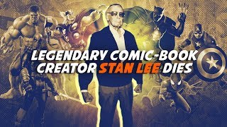 Comic-book legend Stan Lee dies - CNETTV