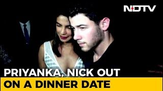 Watch! Priyanka Chopra & Nick Jonas Out On A Dinner Date - NDTV