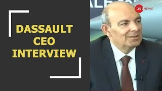 'I don't lie': Dassault CEO Eric Trappier responds to Rahul Gandhi's charges on Rafale deal - ZEENEWS