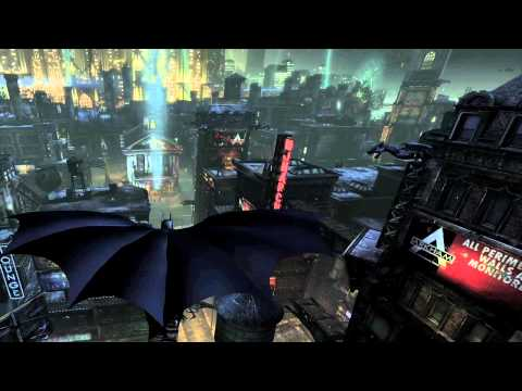 Batman: Arkham City gameplay