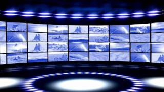 Virtual TV News Studio Backgrounds Bradley tv2 - YouTube