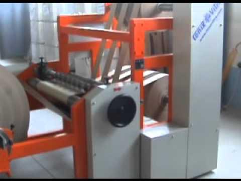 Masina za uzduzno rezanje papira, Slitter rewinder