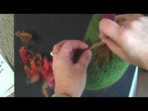 Techniques + Ideas for Needle Felting Locks for the Fiber Ch