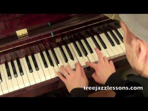 How To Play Jazz Piano Chords- Rootless Voicings