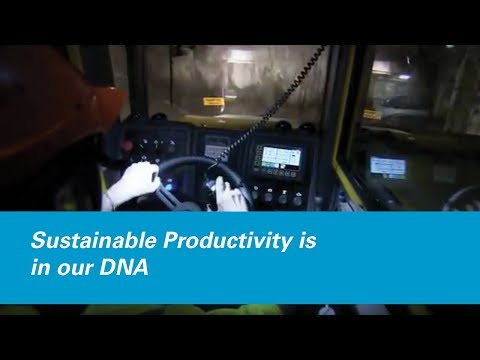 Atlas Copco stands for Sustainable Productivity